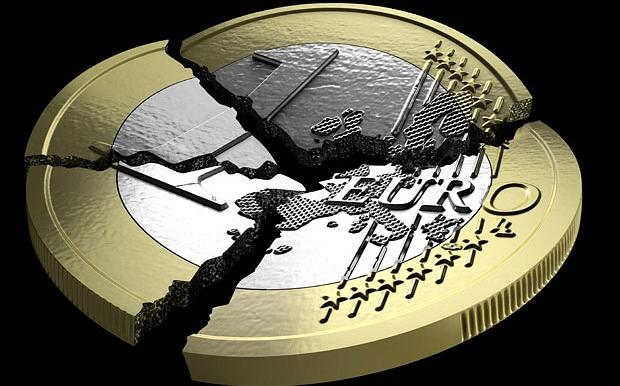 Euron krackelerar